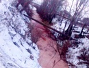 Dòng sông đỏ như máu khiến nhà khoa học hoang mang