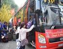 Hơn 3.000 sinh viên được về quê đón Tết trên những chuyến xe miễn phí
