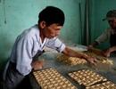 Làng bánh in truyền thống An Lạc hối hả vào Tết