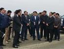 Chủ tịch Nguyễn Đức Chung kiểm tra dự án đầu tư xây dựng đường trục phía Nam