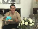 C.Ronaldo lặng lẽ ăn mừng sinh nhật