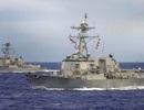 Mỹ điều hai tàu chiến đến Thái Bình Dương bất chấp cảnh báo của Triều Tiên