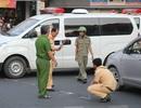 Va chạm với xe bồn, người phụ nữ khuyết tật bị cán trọng thương