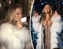 Diva Mariah Carey đang hát mừng năm mới thì đòi… uống trà