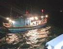 Cứu thành công 10 thuyền viên đang hoảng loạn trên biển