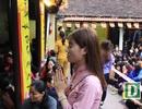 Biển người đổ về chùa Phúc Khánh, tràn kín đường để cầu an