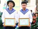 Gần 2.000 thanh niên Thủ đô tình nguyện viết đơn nhập ngũ