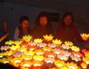 Thả đèn hoa đăng tưởng nhớ liệt sĩ trong trận chiến Gạc Ma
