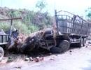 Lật xe chở dưa hấu, 2 người tử vong tại chỗ