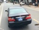 Phạt lái xe biển xanh lạng lách, chèn ép xe khách