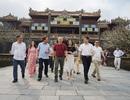 HLV Park Hang Seo thích thú tham quan Đại Nội Huế