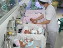 Hiếm gặp ca mang 4 thai tự nhiên sinh mổ tuần thứ 30