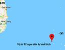 Nỗ lực tìm kiếm 2 ngư dân mất tích trên vùng biển Trường Sa
