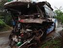 3 người tử vong trong chiếc xe khách biến dạng