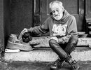 Bộ ảnh cảm động về những người vô gia cư