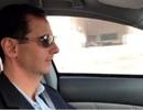 """Tổng thống Syria đích thân lái xe vào """"địa ngục"""" Ghouta"""