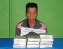 Bắt đối tượng người Lào vận chuyển 10 bánh heroin vào Việt Nam