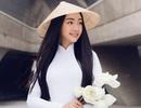 """""""Nàng thơ xứ Huế"""" mặc áo dài trắng gây chú ý truyền thông quốc tế"""