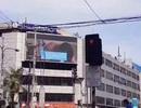 Ngỡ ngàng phim người lớn xuất hiện trên màn hình quảng cáo giữa phố đông của Philippines