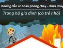 Infographic: Hướng dẫn an toàn phòng cháy cho gia đình có trẻ nhỏ