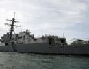 Tàu chiến Mỹ áp sát đảo nhân tạo Trung Quốc xây trái phép ở Biển Đông