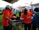 Cận cảnh màn diễn tập ứng phó y tế trong trận siêu bão
