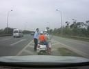 Chuyện hiếm trên đường cao tốc