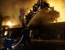 Cháy lớn tại bãi gỗ trên đường Lê Thánh Tông, Hải Phòng