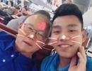 """U23 Vũ Văn Thanh dạy thầy Park nói tiếng Việt rất tình cảm nhưng... """"có gì đó sai sai"""""""