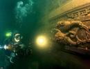 """Thành phố cổ """"ngâm"""" dưới nước nửa thế kỷ vẫn gần như nguyên vẹn"""
