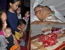 """5 con dại gào khóc bên giường bệnh của người bố """"nằm chờ chết"""""""