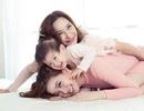 Tan chảy với bộ ảnh 8/3 của 3 thế hệ gia đình Á hậu Diễm Trang