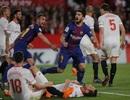 Messi, Suarez ghi bàn ở hai phút cuối, Barcelona may mắn hòa Sevilla
