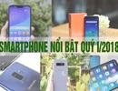 Những smartphone nổi bật bán ra thị trường trong quý I/2018
