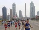 Hàng trăm người nước ngoài dự giải chạy mừng sinh nhật cố lãnh đạo Triều Tiên