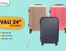 Sắm vali đi du lịch, giá cực sốc chỉ từ 444.000 đồng