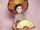 Nữ Hoàng Trần Huyền Nhung quyền quý với quốc phục của NTK Tuấn Hải