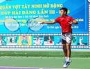 Lý Hoàng Nam tham dự giải quần vợt chuyên nghiệp quy mô lớn tại Tây Ninh