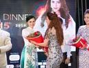 Nữ Hoàng Trần Huyền Nhung diện áo dài của NTK Ngọc Hân đi event hoa hậu quý bà.