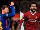 Cuộc đua Chiếc giày vàng châu Âu: Salah vượt lên trên Messi