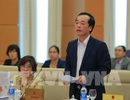 Bộ trưởng nhận sai sót chưa ký tên trên báo cáo khi trình dự án luật