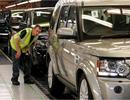 Jaguar Land Rover cắt giảm sản xuất và nhân công tại Anh