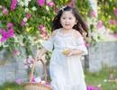 """Ngày nắng đẹp bên giàn hoa giấy của """"thiên thần nhí"""" Mimi"""