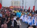 """Quảng Bình: Dàn hoa hậu, nghệ sỹ """"hâm nóng"""" lễ hội diễu hành đường phố"""