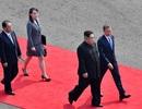 """Em gái ông Kim Jong-un đỏ mặt vì được gọi là """"ngôi sao"""""""
