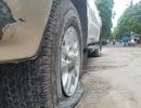 Gần 40 ô tô ở khu chung cư Hà Nội bị chọc thủng lốp trong đêm