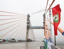 Hợp long, thông xe kỹ thuật cầu Bạch Đằng hơn 7.000 tỉ đồng