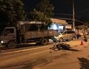 Đi chơi lễ, 2 thanh niên bị xe tải cán thương vong