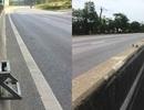 Tháo dỡ những chiếc thang vượt dải phân cách trên quốc lộ