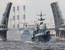 Uy lực dàn tàu chiến hiện đại của Hải quân Nga